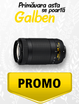 In perioada 1 aprilie - 6 mai 2019 obiectivul NIKKOR 70-300mm f/4.5-6.3G ED VR AF-P DX se afla in oferta la partenerii oficiali Nikon din Romania. www.nikonisti.ro