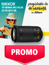In perioada 27 mai - 30 iunie 2019 obiectivul NIKKOR 70-300mm f/4.5-6.3G ED VR AF-P DX se afla in oferta la partenerii oficiali Nikon din Romania. www.nikonisti.ro