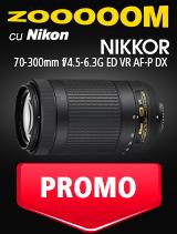 SUNT NIKKOR 70-300mm f/4.5-6.3G ED VR AF-P DX IN PROMOTIE