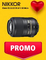 In perioada 5 - 25 februarie 2019 obiectivul NIKKOR 85mm f/3.5G ED VR AF-S Micro se afla in oferta la partenerii oficiali Nikon din Romania. www.nikonisti.ro