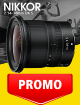 In perioada 1 - 30 septembrie 2020 obiectivul NIKKOR Z 14-30mm f/4 S se afla in oferta la partenerii oficiali Nikon din Romania. www.nikonisti.ro