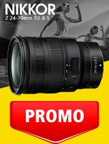 In perioada 1- 30 septembrie 2020 obiectivul NIKKOR Z 24-70mm f/2.8 S se afla in oferta la partenerii oficiali Nikon din Romania. www.nikonisti.ro