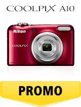 In perioada 26 iunie 2018 - 5 august 2018 aparatul foto Nikon COOLPIX A10 Red se afla in oferta la partenerii oficiali Nikon din Romania. www.nikonisti.ro