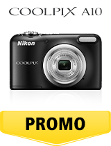 In perioada 26 iunie 2018 - 5 august 2018 aparatul foto Nikon COOLPIX A10 Black se afla in oferta la partenerii oficiali Nikon din Romania. www.nikonisti.ro