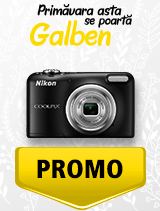 In perioada 1 aprilie - 6 mai 2019 aparatul foto Nikon COOLPIX A10 se afla in oferta la partenerii oficiali Nikon din Romania. www.nikonisti.ro