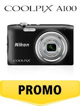 In perioada 6 iunie 2018- 15 iulie 2018 aparatul foto Nikon COOLPIX A100 Black se afla in oferta la partenerii oficiali Nikon din Romania. www.nikonisti.ro