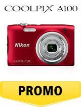 In perioada 26 iunie 2018- 5 august 2018 aparatul foto Nikon COOLPIX A100 Red se afla in oferta la partenerii oficiali Nikon din Romania. www.nikonisti.ro