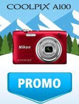 In perioada 9 ianuarie - 4 februarie 2019 aparatul foto Nikon COOLPIX A100 se afla in oferta la partenerii oficiali Nikon din Romania. www.nikonisti.ro
