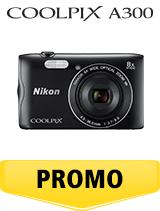In perioada 16 aprilie 2018- 6 iunie 2018 aparatul foto Nikon COOLPIX A300 black se afla in oferta la partenerii oficiali Nikon din Romania. www.nikonisti.ro