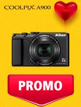 In perioada 5 - 25 februarie 2019 aparatul foto Nikon COOLPIX A900 se afla in oferta la partenerii oficiali Nikon din Romania. www.nikonisti.ro