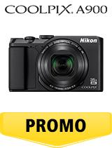 In perioada 16 aprilie 2018- 6 iunie 2018 aparatul foto Nikon COOLPIX A900 black se afla in oferta la partenerii oficiali Nikon din Romania. www.nikonisti.ro
