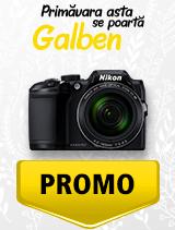 In perioada 1 aprilie - 6 mai 2019 aparatul foto Nikon COOLPIX B500 se afla in oferta la partenerii oficiali Nikon din Romania. www.nikonisti.ro