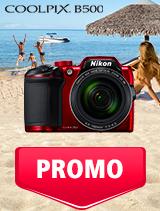 In perioada 1 - 31 iulie 2019 aparatul foto Nikon COOLPIX B500 se afla in oferta la partenerii oficiali Nikon din Romania. www.nikonisti.ro