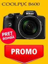 In perioada 12 mai - 2 iunie 2020 aparatul foto Nikon COOLPIX B600 se afla in oferta la partenerii oficiali Nikon din Romania. www.nikonisti.ro