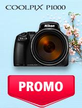 In perioada 7 mai - 3 iunie 2019 aparatul foto Nikon COOLPIX P1000 se afla in oferta la partenerii oficiali Nikon din Romania. www.nikonisti.ro
