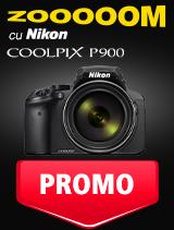 SUNT NIKON COOLPIX P900 IN PROMOTIE
