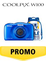 In perioada 6 iunie 2018- 15 iulie 2018 aparatul foto Nikon COOLPIX W100 Backpack Kit Blue se afla in oferta la partenerii oficiali Nikon din Romania. www.nikonisti.ro
