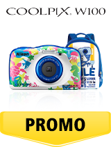 In perioada 6 iunie 2018- 15 iulie 2018 aparatul foto Nikon COOLPIX W100 Backpack Kit Marine se afla in oferta la partenerii oficiali Nikon din Romania. www.nikonisti.ro