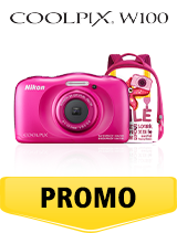 In perioada 26 iunie 2018- 5 august 2018 aparatul foto Nikon COOLPIX W100 Backpack Kit Pink se afla in oferta la partenerii oficiali Nikon din Romania. www.nikonisti.ro