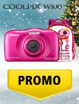 In perioada 5 decembrie 2018 - 8 ianuarie 2019 aparatul foto Nikon COOLPIX W100 se afla in oferta la partenerii oficiali Nikon din Romania. www.nikonisti.ro
