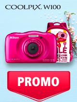 In perioada 7 mai - 3 iunie 2019 aparatul foto Nikon COOLPIX W100 se afla in oferta la partenerii oficiali Nikon din Romania. www.nikonisti.ro