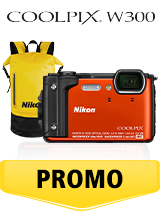 In perioada 26 iunie 2018 - 5 august 2018 aparatul foto Nikon COOLPIX W300 Holiday kit (orange) se afla in oferta la partenerii oficiali Nikon din Romania. www.nikonisti.ro