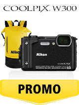 In perioada 26 iunie 2018 - 5 august 2018 aparatul foto Nikon COOLPIX W300 Holiday kit (black) se afla in oferta la partenerii oficiali Nikon din Romania. www.nikonisti.ro