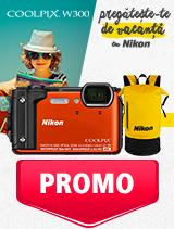In perioada 27 mai - 30 iunie 2019 aparatul foto subacvatic Nikon COOLPIX W300 Holiday Kit se afla in oferta la partenerii oficiali Nikon din Romania. www.nikonisti.ro