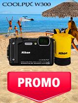 In perioada 1 - 31 iulie 2019 aparatul foto Nikon COOLPIX W300 se afla in oferta la partenerii oficiali Nikon din Romania. www.nikonisti.ro