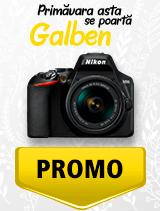In perioada 1 aprilie - 6 mai 2019 aparatul DSLR Nikon D3500 Kit AF-P 18-55mm VR se afla in oferta la partenerii oficiali Nikon din Romania. www.nikonisti.ro