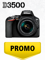 In perioada 4 decembrie 2019 - 15 ianuarie 2020 aparatul DSLR Nikon D3500 Kit AF-P 18-55mm VR se afla in oferta la partenerii oficiali Nikon din Romania. www.nikonisti.ro