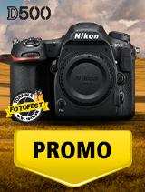 In perioada 16 octombrie - 15 noiembrie 2018 aparatul foto DSLR Nikon D500 body se afla in oferta la partenerii oficiali Nikon din Romania. www.nikonisti.ro