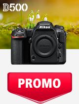 In perioada 1 - 31 martie 2019 aparatul DSLR Nikon D500 body se afla in oferta la partenerii oficiali Nikon din Romania. www.nikonisti.ro