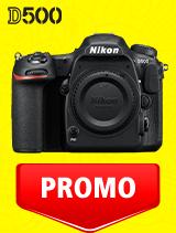 In perioada 7 iulie -3 august 2020 aparatul DSLR Nikon D500 body se afla in oferta la partenerii oficiali Nikon din Romania. www.nikonisti.ro
