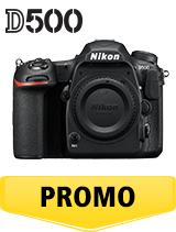 In perioada 16 aprilie 2018- 6 iunie 2018 aparatul foto DSLR Nikon  D500 body se afla in oferta la partenerii oficiali Nikon din Romania. www.nikonisti.ro