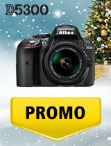 In perioada 5 decembrie 2018 - 8 ianuarie 2019 aparatul DSLR Nikon D5300 Kit AF-P 18-55mm VR se afla in oferta la partenerii oficiali Nikon din Romania. www.nikonisti.ro