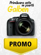 In perioada 1 aprilie - 6 mai 2019 aparatul DSLR Nikon D5300 Kit  18-105mm VR se afla in oferta la partenerii oficiali Nikon din Romania. www.nikonisti.ro