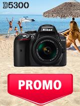 In perioada 1 - 31 iulie 2019 aparatul DSLR Nikon D5300 Kit AF-P 18-55mm VR se afla in oferta la partenerii oficiali Nikon din Romania. www.nikonisti.ro