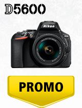 In perioada 4 decembrie 2019 - 15 ianuarie 2020 aparatul DSLR Nikon D5600 Kit AF-P 18-55mm VR se afla in oferta la partenerii oficiali Nikon din Romania. www.nikonisti.ro