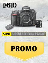 In perioada 15 ianuarie 2017 - 18 februarie 2018, aparatul foto Nikon D610 (black) + baterie En-El 15a + card Lexar 32GB - 150MB/s se afla in promotie la partenerii oficiali Nikon din Romania. www.nikonisti.ro