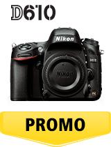 In perioada 26 iunie 2018 - 5 august 2018 aparatul foto DSLR Nikon D610 body  se afla in oferta la partenerii oficiali Nikon din Romania. www.nikonisti.ro