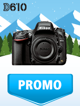 In perioada 9 ianuarie - 4 februarie 2019 aparatul DSLR Nikon D610 body se afla in oferta la partenerii oficiali Nikon din Romania. www.nikonisti.ro