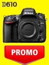 In perioada 7 iulie - 3 august 2020 aparatul DSLR Nikon D610 body se afla in oferta la partenerii oficiali Nikon din Romania. www.nikonisti.ro