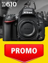 In perioada 1 - 30 septembrie 2020 aparatul DSLR Nikon D610 body se afla in oferta la partenerii oficiali Nikon din Romania. www.nikonisti.ro