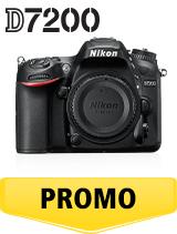 In perioada 6 iunie 2018 - 15 iulie 2018 aparatul foto DSLR Nikon D7200 body se afla in oferta la partenerii oficiali Nikon din Romania. www.nikonisti.ro