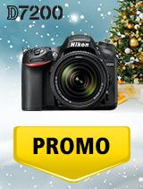 In perioada 5 decembrie 2018 - 8 ianuarie 2019 aparatul DSLR Nikon D7200 Kit  AF-S 18-140mm VR se afla in oferta la partenerii oficiali Nikon din Romania. www.nikonisti.ro