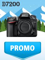 In perioada 9 ianuarie - 4 februarie 2019 aparatul DSLR Nikon D7200 body se afla in oferta la partenerii oficiali Nikon din Romania. www.nikonisti.ro
