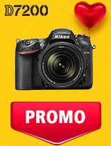 In perioada 5 - 25 februarie 2019 aparatul DSLR Nikon D7200 Kit  AF-S 18-140mm VR se afla in oferta la partenerii oficiali Nikon din Romania. www.nikonisti.ro