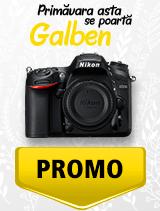 In perioada 1 aprilie - 6 mai 2019 aparatul DSLR Nikon D7200 body se afla in oferta la partenerii oficiali Nikon din Romania. www.nikonisti.ro