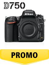 In perioada 6 iunie 2018 - 15 iulie 2018 aparatul foto DSLR Nikon D750 body se afla in oferta la partenerii oficiali Nikon din Romania. www.nikonisti.ro